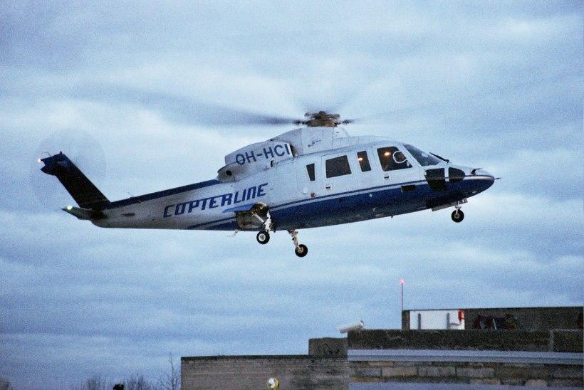 GALERII   TÄNA 10 AASTAT TAGASI – Copterline helikopteri otsingud