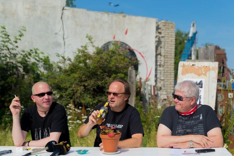 GALERII | Punklaulupeo tuleminemine: Raid, Pruuli ja Lang tutvustasid rännaku kava