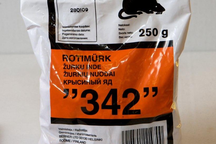 POLITSEI HOIATAB: narkootikumide pähe müüakse rotimürki ja pesupulbrit