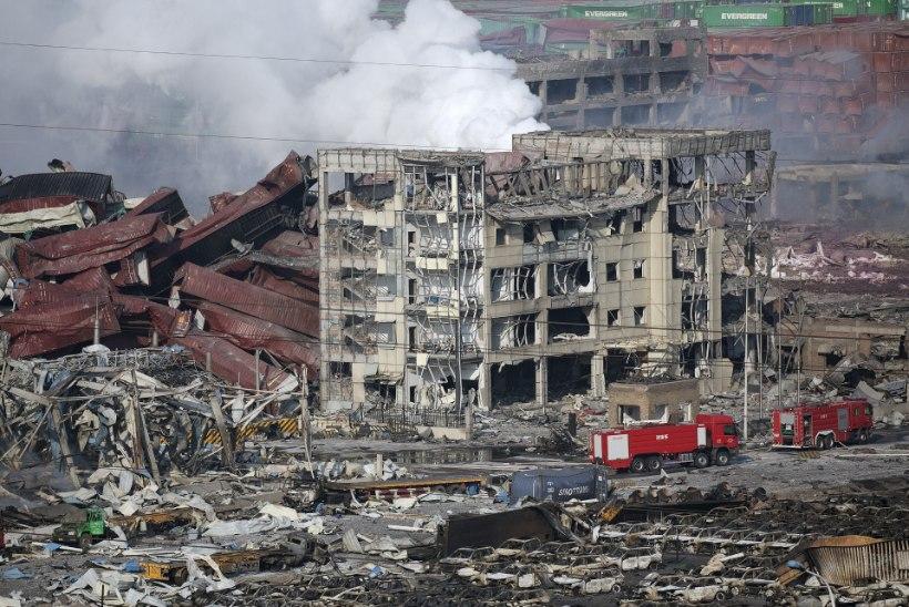 Hiina suurlinna elanikud kartsid, et puhkenud on tuumasõda