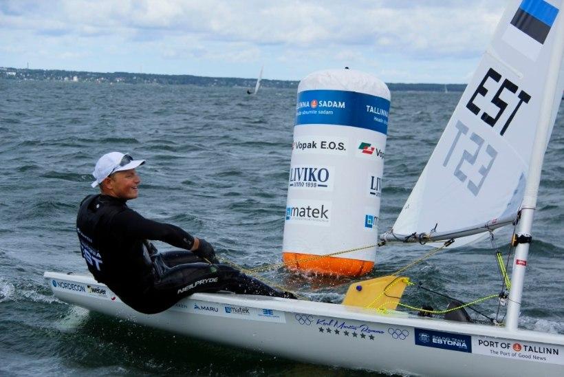 Karl-Martin Rammo on Rio eelolümpial avapäeva järel kõrges mängus