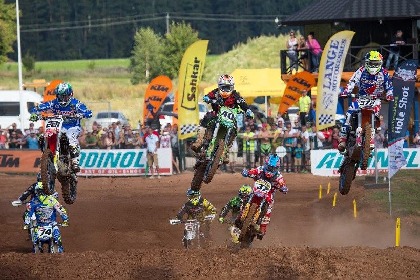 Kõrgetasemelistel Eesti meistrivõistlustel näitas avapäeval head kiirust Tanel Leok