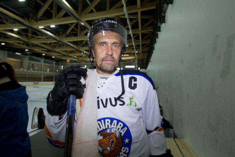 ÕHTULEHE VIDEO | Allar Levandi jäähoki mängimisest NHLi legendidega: Juba praegu käed värisevad!
