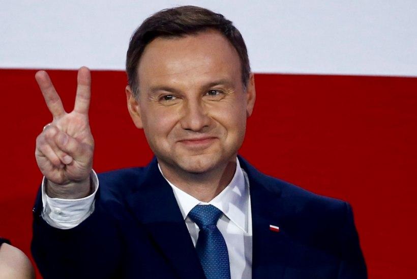 Poola uus riigipea teeb esimese välisvisiidi Eestisse