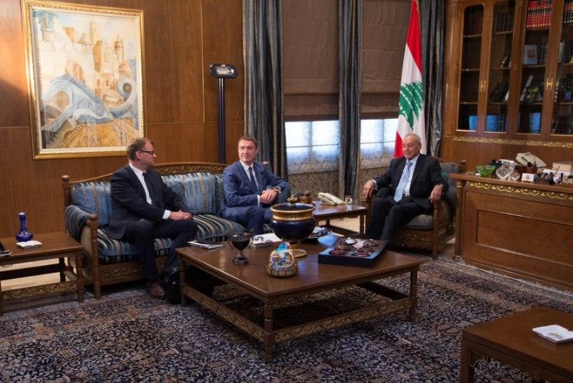 FOTOD   Rõivas Liibanonis: aidates lahendada kriisi siin, aitame vähendada rändesurvet