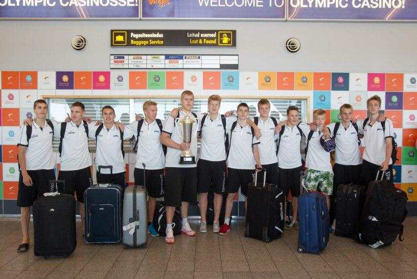 U16 korvpallipoiste vägev triumf avas ukse eliitseltskonda