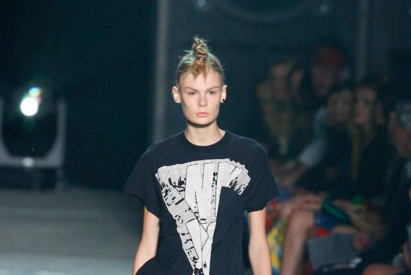 PILTUUDIS   Eesti modell poseerib koos Victoria Beckhamiga