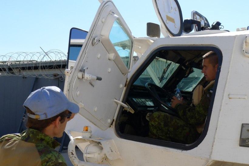 FOTOD   Eesti kaitseväelased said Liibanonis uue teenistuskoha