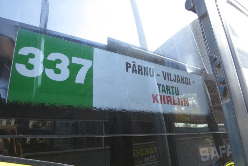 HIRMUNUD REISIJA: kartsime, et buss lendab õhku!
