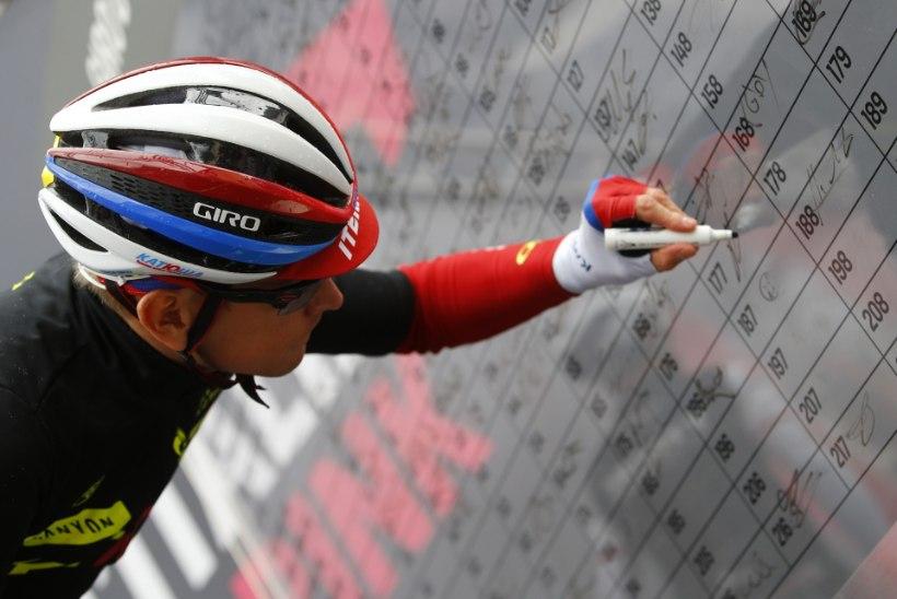 Vene ratturid jõid end täis ning Vueltal ei stardi