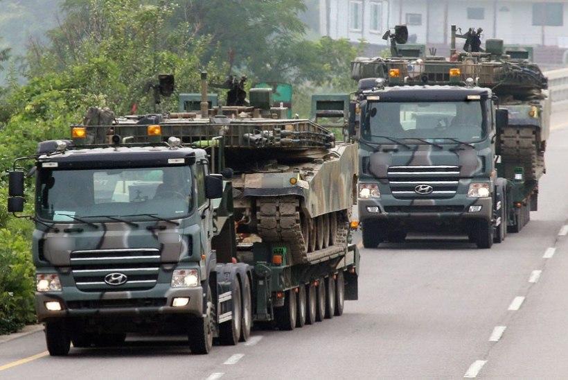 Pinged mõlema Korea vahel kasvavad: Põhja-Korea on lahinguvalmis