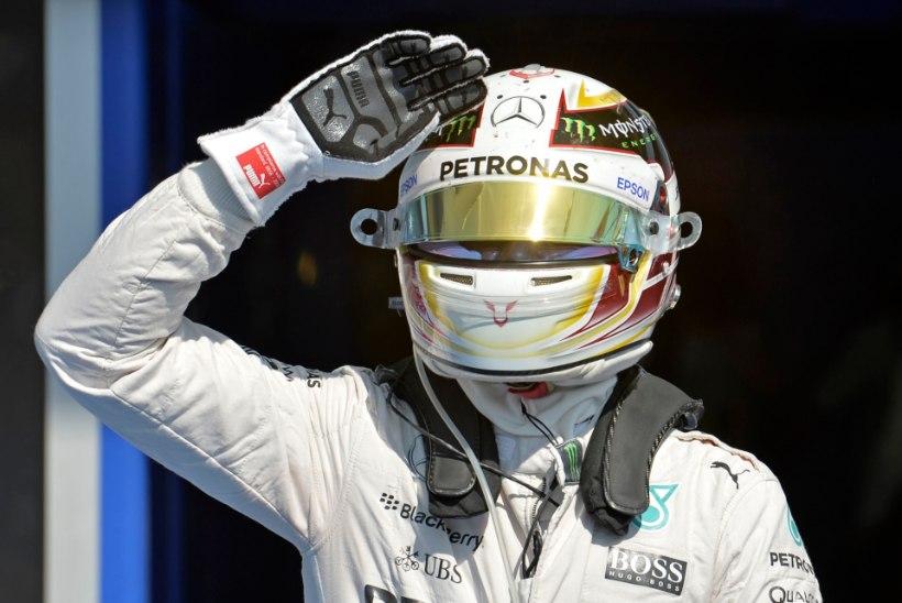 IGAV: Hamilton oli Belgias ajasõidu parim, britt on hooaja 11st kvalifikatsioonist võitnud 10!