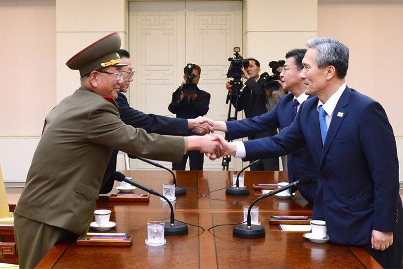 Põhja- ja Lõuna-Korea jõudsid kokkuleppele vähendada pingeid