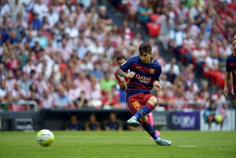 La Liga avapauk: Messi eksis penaltil, Madridi Real jäi väravata