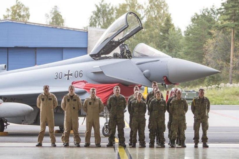 Eestit hakkasid turvama Saksa hävitajad