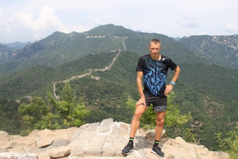 Eesti parim maratonijooksja seikles Hiina kultuuriradadel