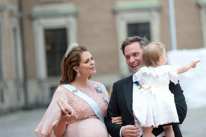 Rootsi printsess Madeleine kolis Londonisse