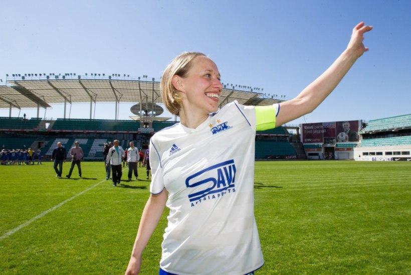 LEGEND ON TAGASI! Naiste vutikoondise eest 40 väravat kõmmutanud ründaja teeb Balti turniiril comeback'i