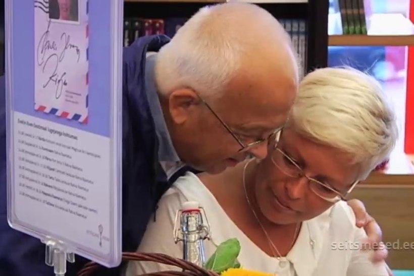 TV3 VIDEO | Evelin Ilvese raamatuesitluse emotsionaalne hetk: eksesileedi isa palus tütrelt lepitust