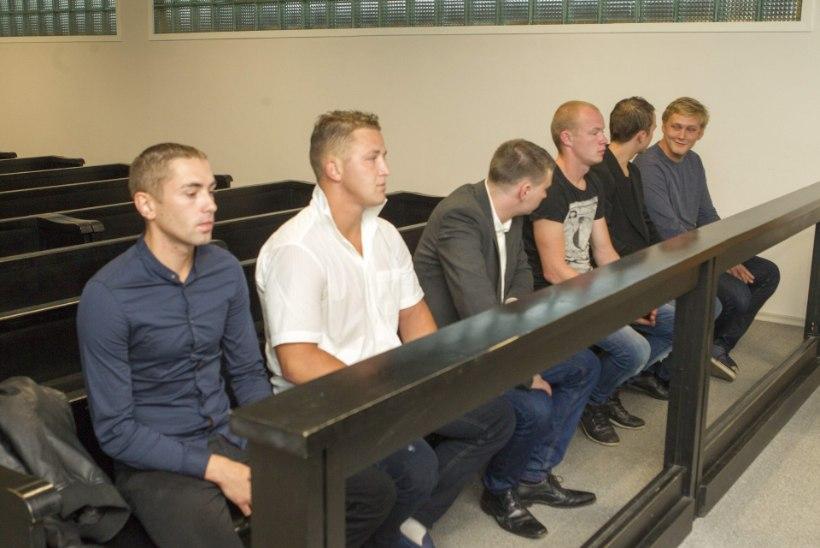 Tallinna kesklinna peksuklubi suleti – kuus rusikakangelast kohtupingis