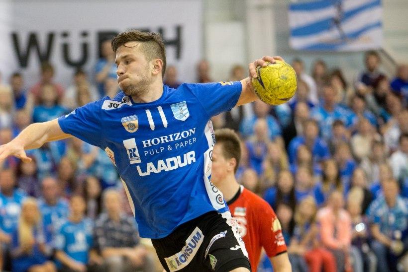 Tallinnas toimuval rahvusvahelisel käsipalliturniiril jõudsid poolfinaali kaks Eesti satsi