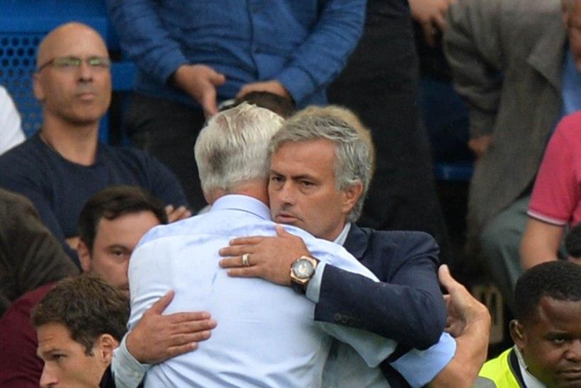 Jose Mourinho: väga raske on mängida, kui sul pole 10 teatud tasemel mängijat väljakul.