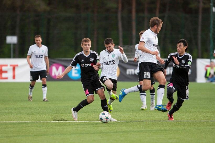 NII SEE JUHTUS   Sport 29. augustil: Flora võitis üliägedas mängus Kaljut, Augsburg kaotas uustulnukale