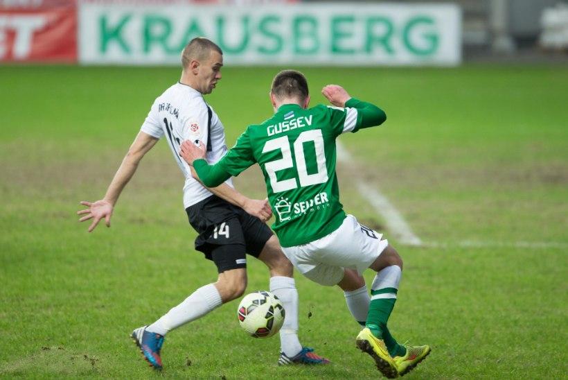 FC Flora sai taas Sillamäe Kalevist jagu
