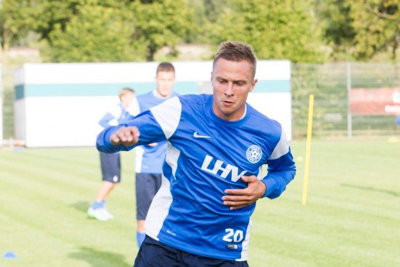 GALERII   Eesti jalgpallikoondis kogunes eelseisvateks EM-valikmängudeks