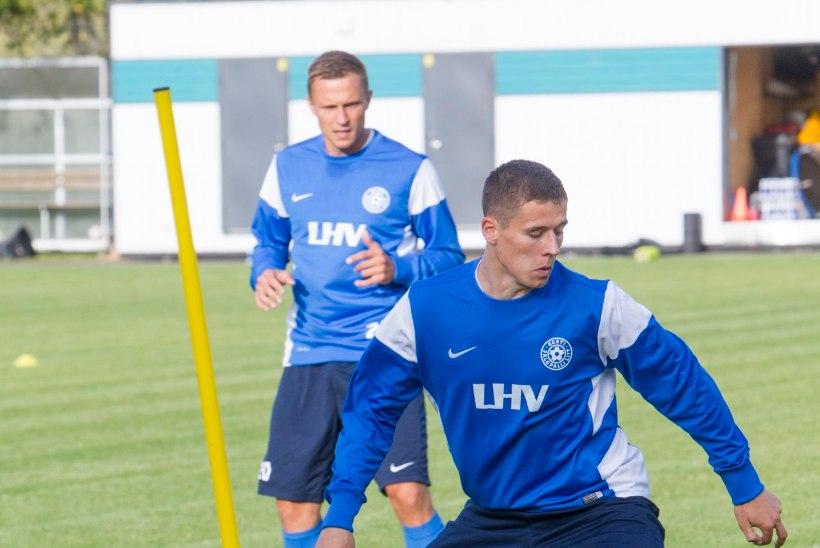GALERII | Eesti jalgpallikoondis kogunes eelseisvateks EM-valikmängudeks