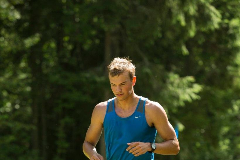 Raido Ränkel näitas jooksjatele kandu