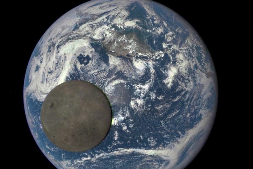 FOTOUUDIS | Kuu tagumine külg ligi kahe miljoni kilomeetri kauguselt