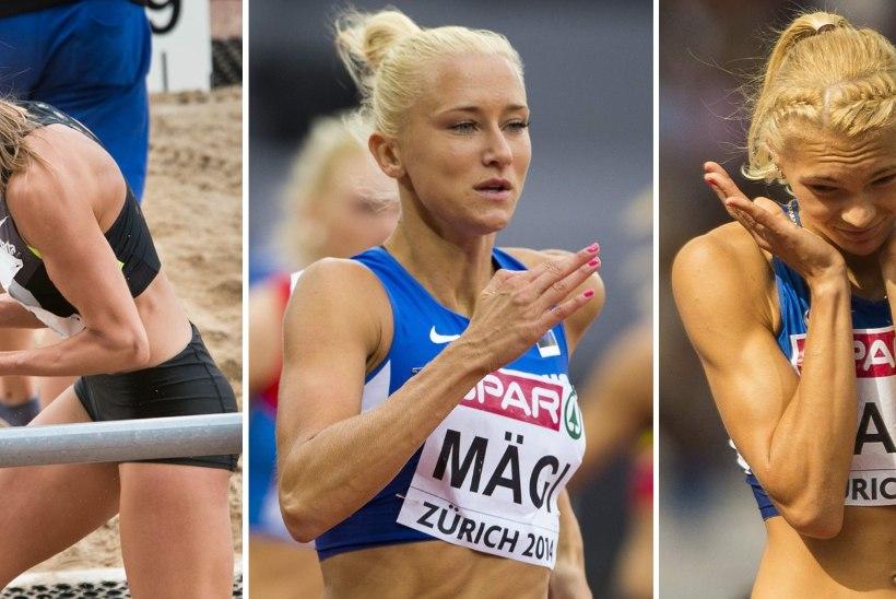 Kas Eesti MM-koondis tugevneb kolme kena naiskergejõustiklasega?