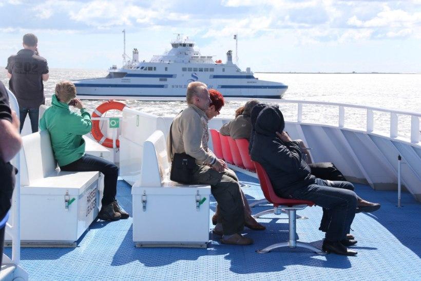 Suursaartele reisis juulis taas rekordarv inimesi