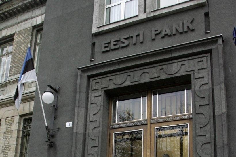 Eesti Panga hoone fassaadi renoveeritakse 27 000 euro eest
