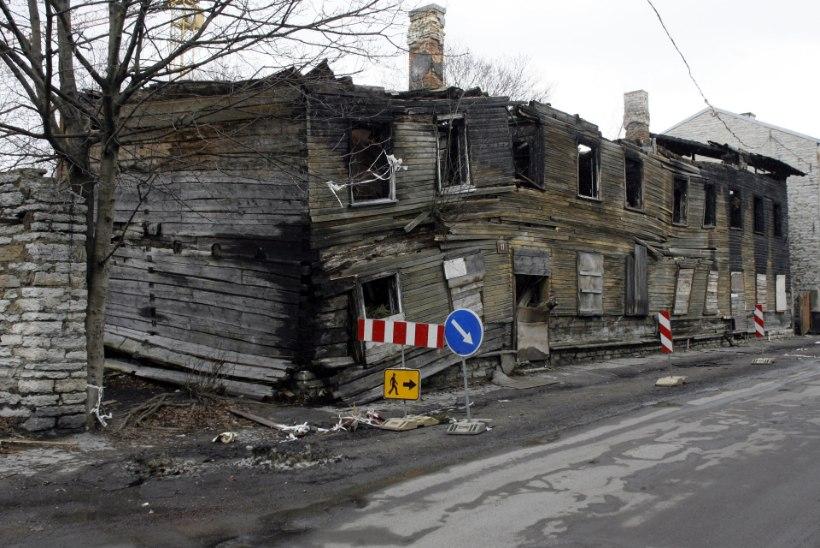 Kas mahajäetud majad süttivad kogemata või meelega?