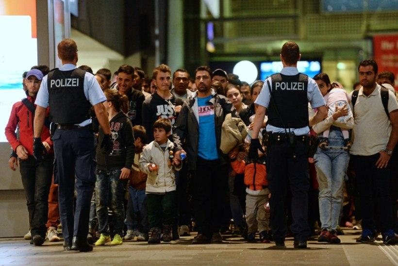 Saksamaa valmistub nädalavahetusel 40 000 pagulase vastuvõtmiseks