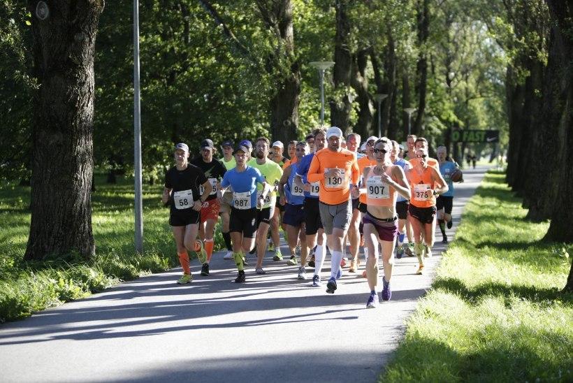 Raio Piiroja täitis Tallinna maratonil eesmärgi, aga kaotas forelli