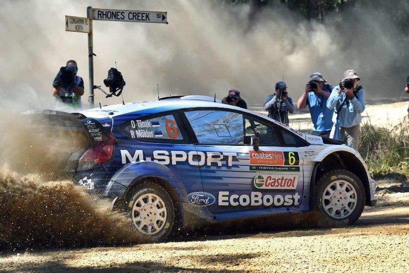 Ott Tänak tegi Austraalias viisaka WRC-debüüdi