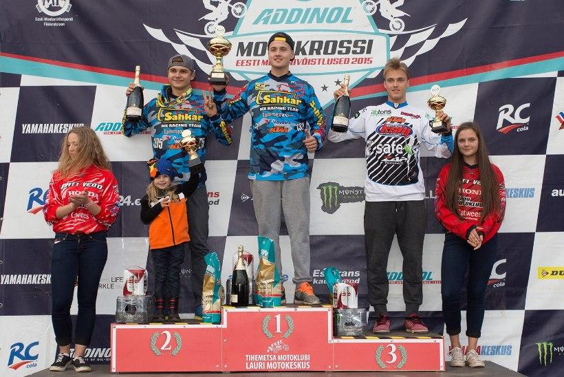 Motokrossis pandi medalid kaela, MX2 klassis võidutses Kutsar