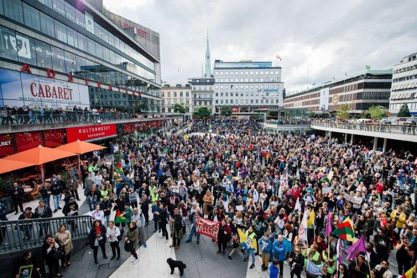Stockholmis kõmas öösel plahvatus