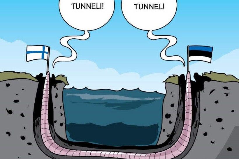 Ülle Rajasalu   Tallinna-Helsingi tunneli rajamiseks tahe olemas