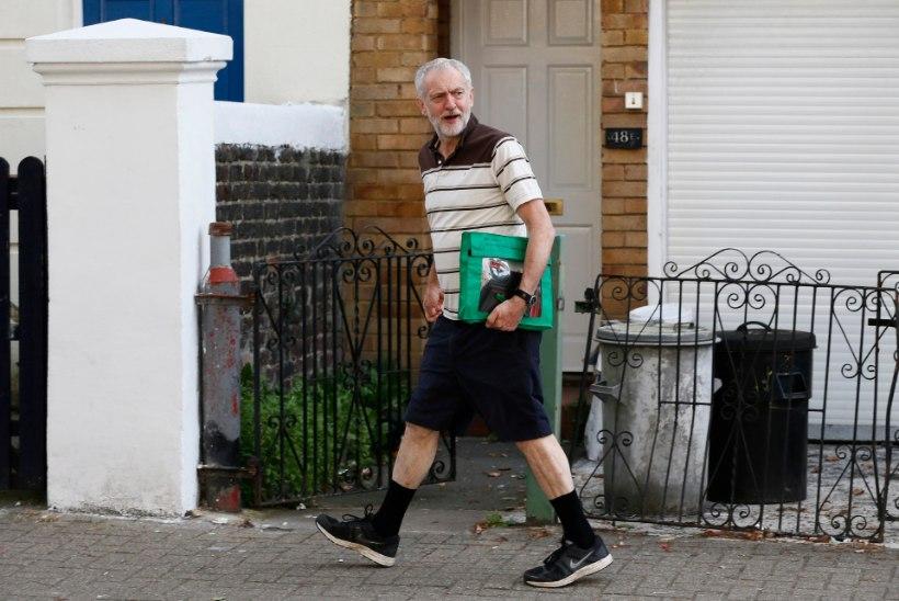 Briti ajakirjandus kujutab leiboristide uut liidrit naljanumbrina