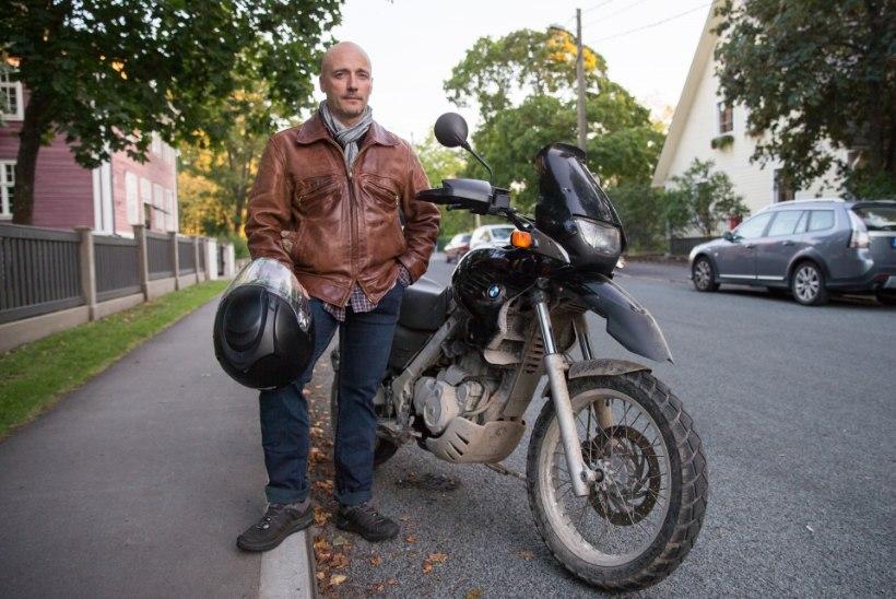 Ilmar Raag: võttepaiku otsin edaspidi mootorratta seljas