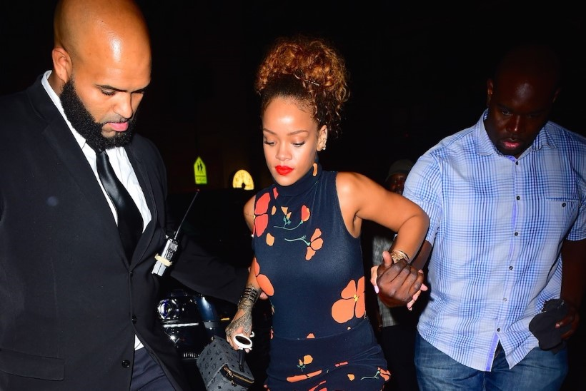 Rihanna voodielu Travis Scottiga olla kuumem kui Chris Browniga