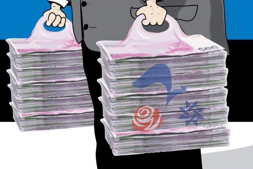 Juhtkiri | Erakondade rahastamise absurd