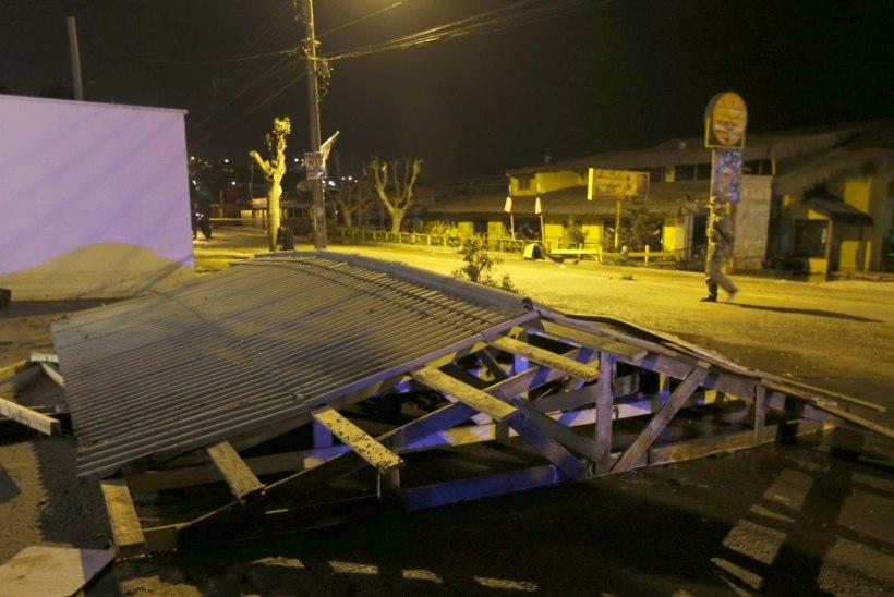 GALERII | Tšiili ranniku lähedal oli ülitugev maavärin