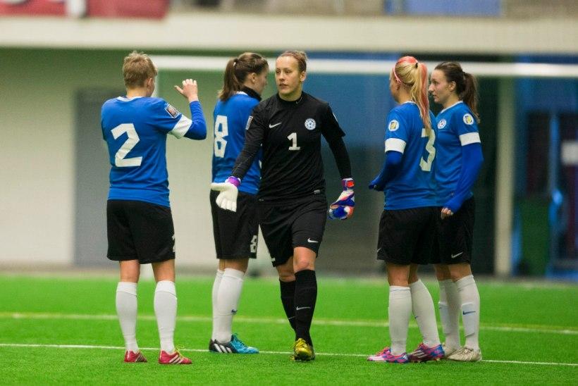 JÄRELVAADATAV | Eesti naiskond kaotas Tamme staadionil Serbiale