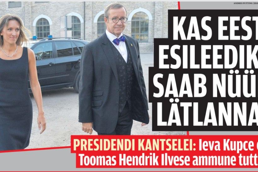 Laipni Ludzam Igauniju, Ieva!* ehk Kuidas president Ilves lätlanna oskuslikult rambivalgusesse tõstis