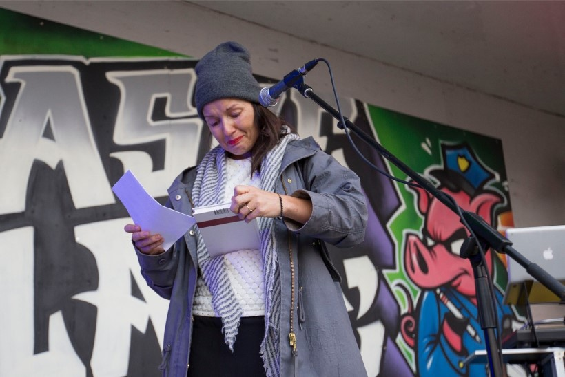 FOTOD | Heidy Purga puhkes Toompeal narkokõnet pidades nutma: ma olen ju ema!